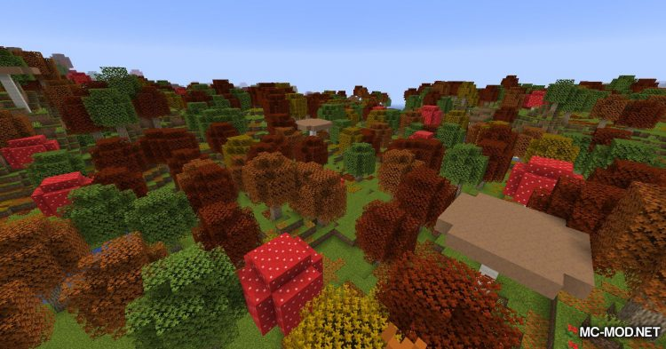 Autumnity mod for Minecraft (2)