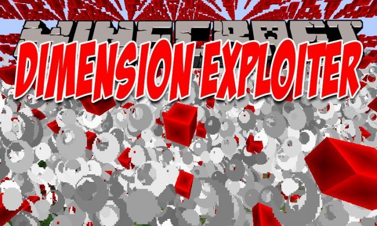 Dimension Exploiter mod for Minecraft logo