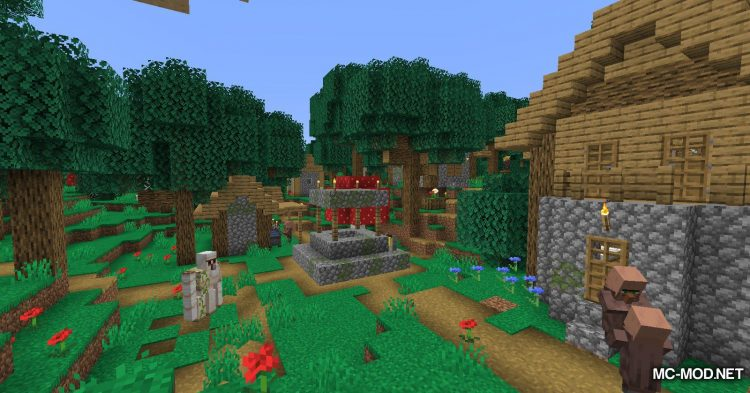 Magical Forest mod for Minecraft (9)