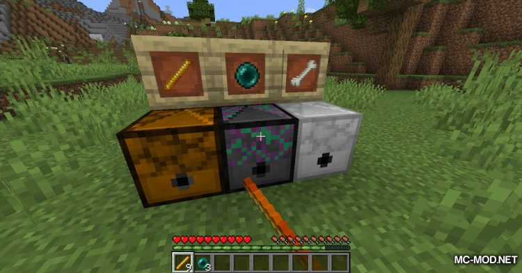 Peaceful Mob Drops mod for Minecraft (15)