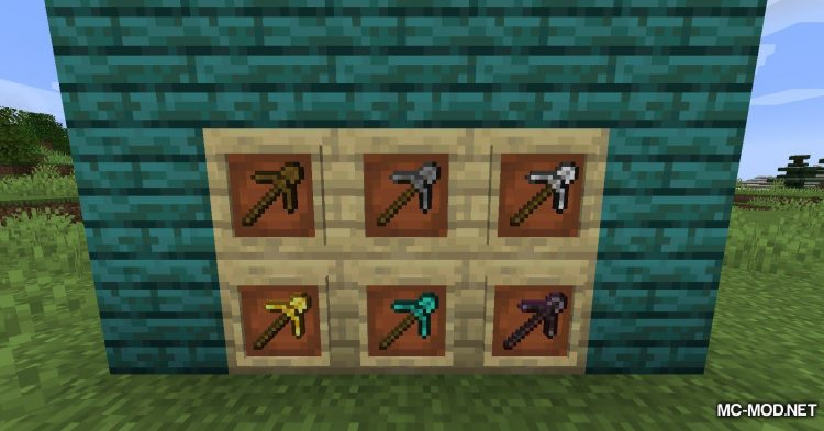Pulaskis and Shaxes mod for Minecraft (10)