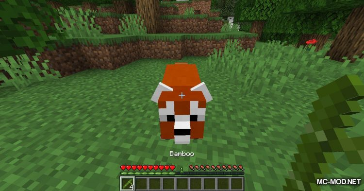 Red Pandas mod for Minecraft (2)