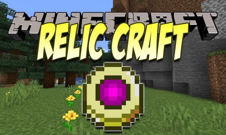 RelicCraft mod for Minecraft logo
