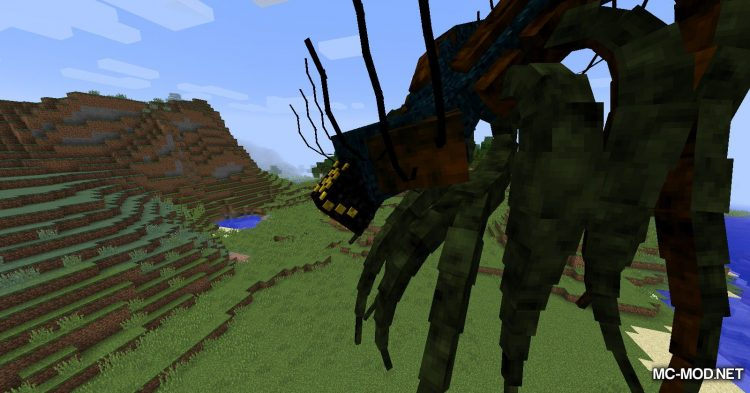 Scape and Run Parasites mod for Minecraft (11)