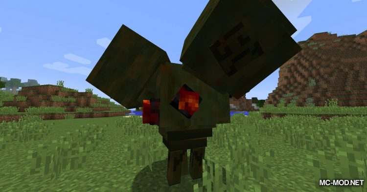 Scape and Run Parasites mod for Minecraft (14)