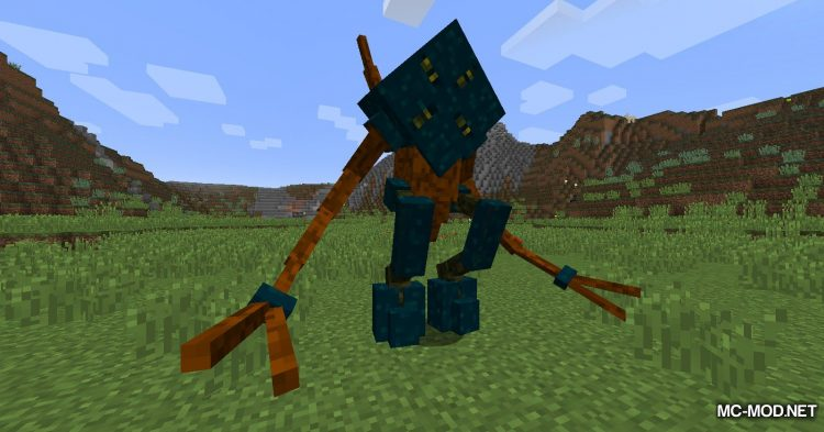 Scape and Run Parasites mod for Minecraft (3)