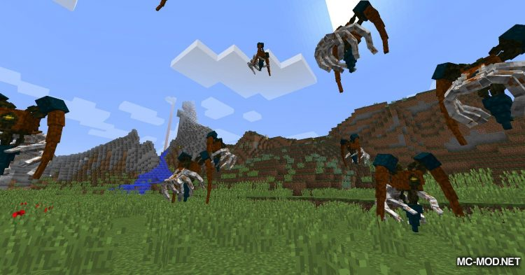 Scape and Run Parasites mod for Minecraft (4)
