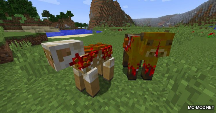 Scape and Run Parasites mod for Minecraft (9)