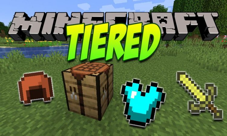 Tiered mod for Minecraft logo
