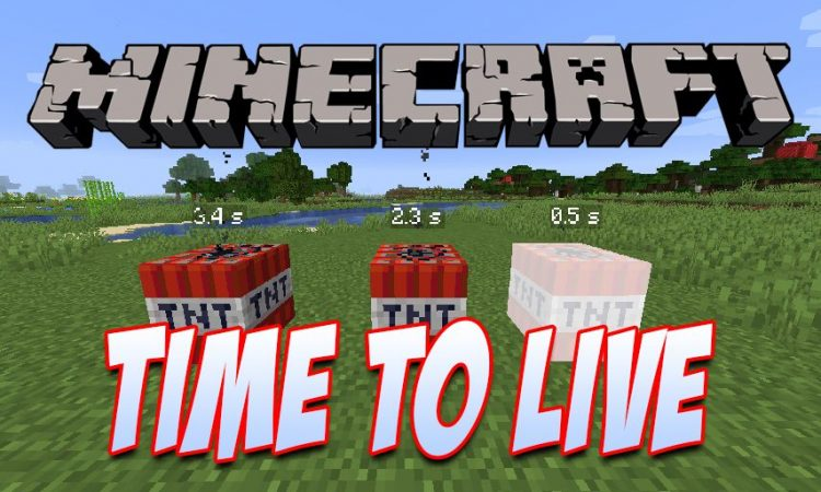 Time To Live mod for Minecraft logo