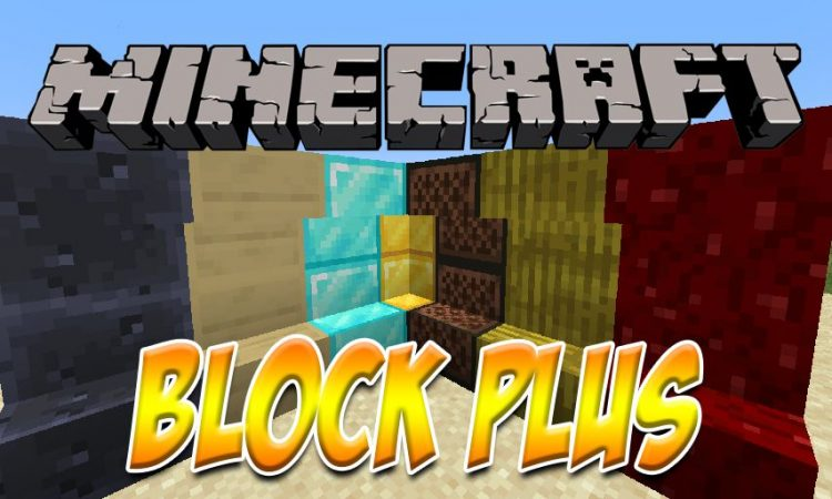 BlockplusMod mod for Minecraft logo