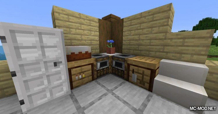 Cooking Table mod for Minecraft (12)