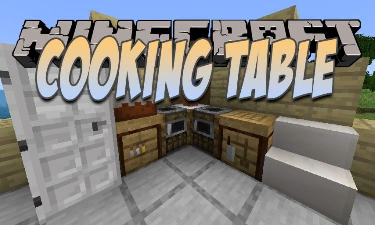 Cooking Table mod for Minecraft logo