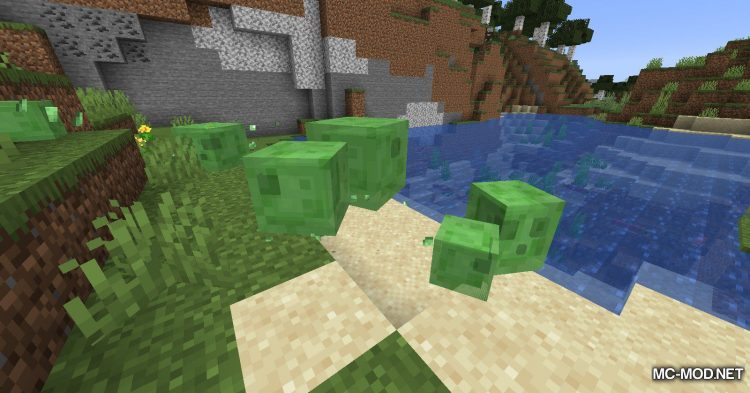 Craftable Slime Balls mod for Minecraft (2)