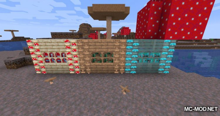 Enhanced Mushrooms mod for MInecraft (15)