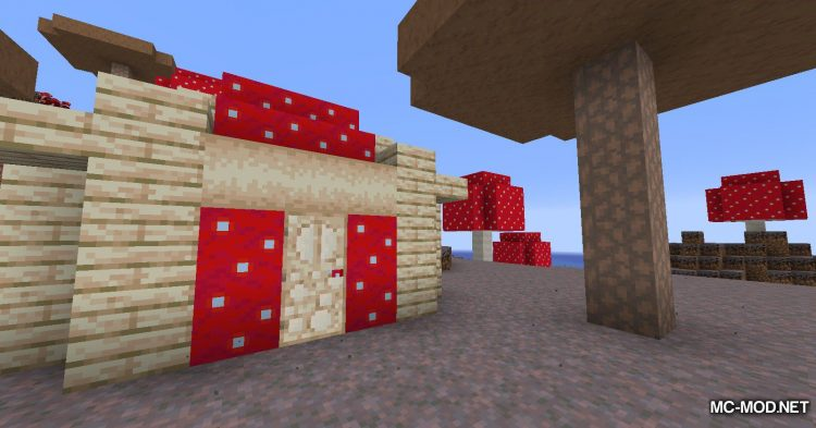 Enhanced Mushrooms mod for Minecraft (14)