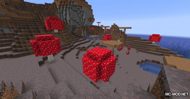 Enhanced Mushrooms mod for Minecraft (2)