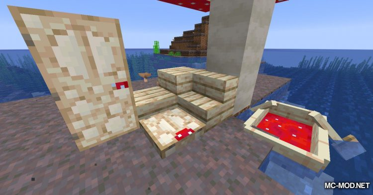 Enhanced Mushrooms mod for Minecraft (5)