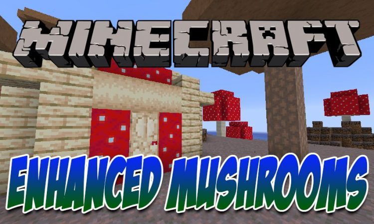 Enhanced Mushrooms mod for Minecraft logo