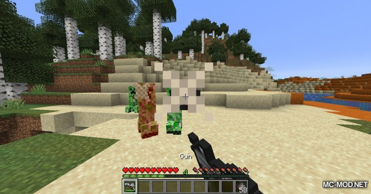Handgun mod for Minecraft (10)