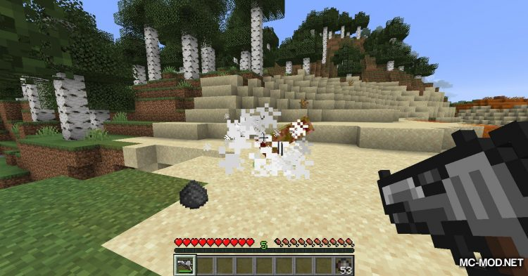 Handgun mod for Minecraft (11)
