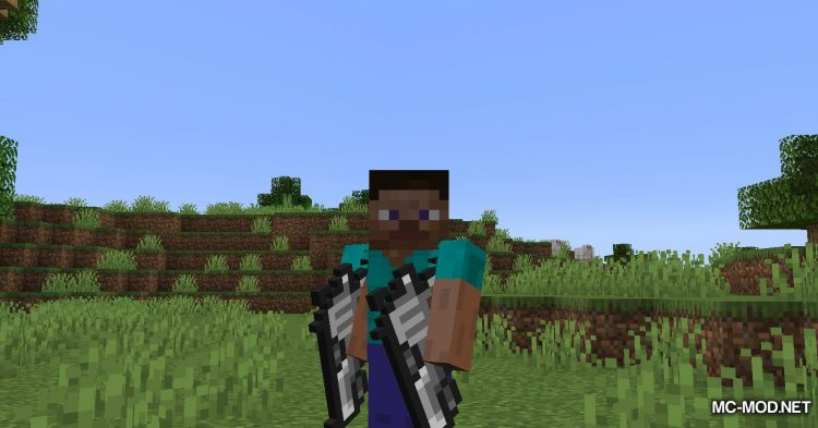 Handgun mod for Minecraft (5)