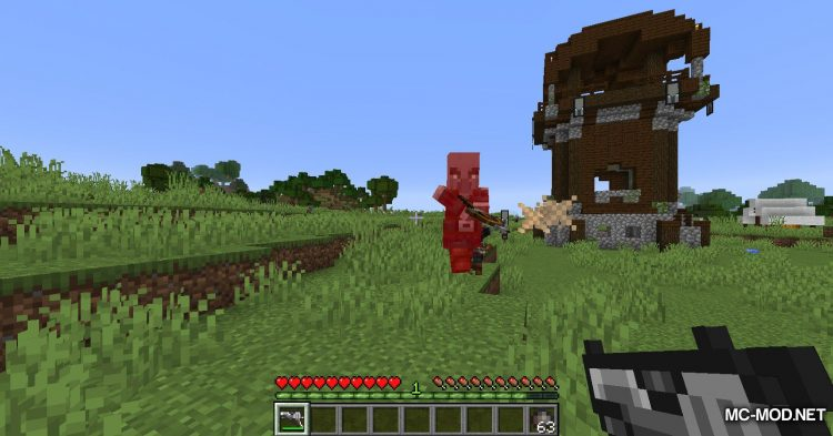 Handgun mod for Minecraft (7)