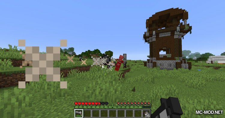 Handgun mod for Minecraft (8)