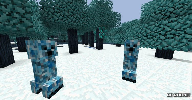 Icescape mod for Minecraft (12)