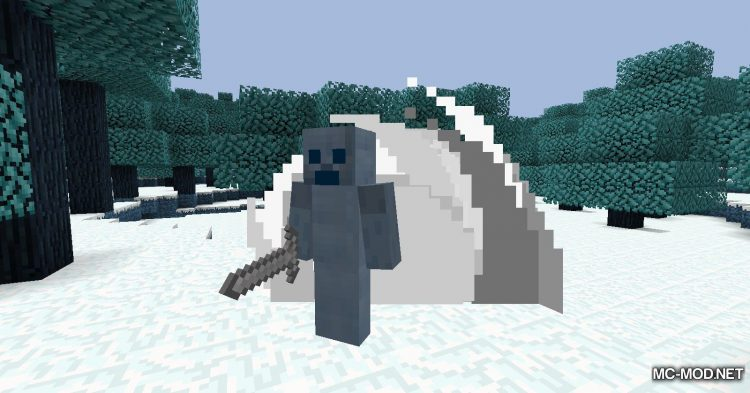 Icescape mod for Minecraft (16)
