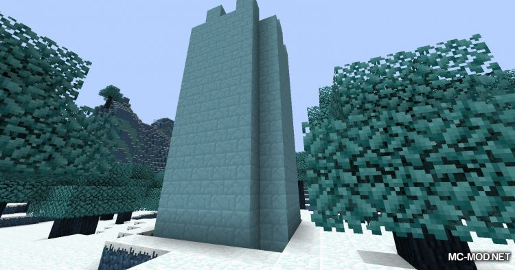 Icescape mod for Minecraft (6)