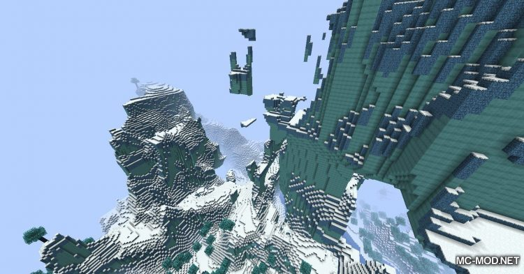 Icescape mod for Minecraft (8)