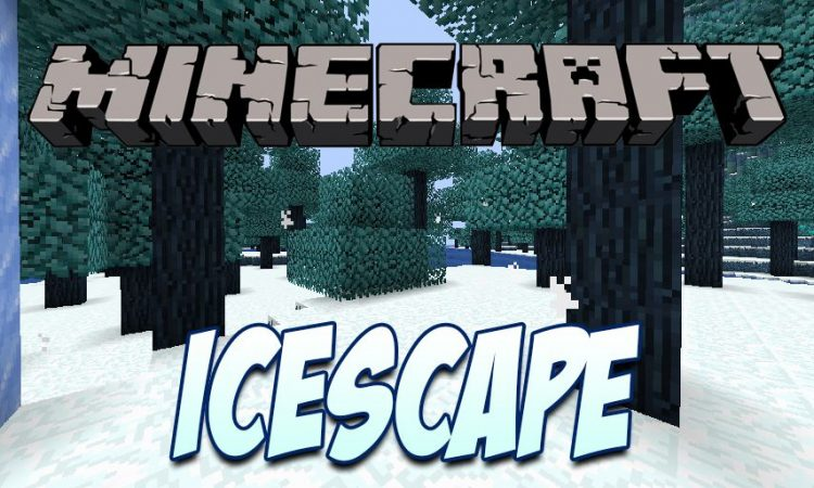 Icescape mod for Minecraft logo