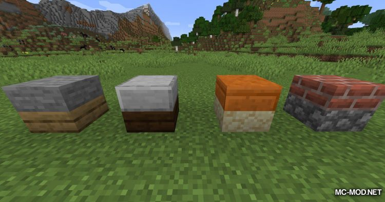 Mixed Slab mod for Minecraft (5)