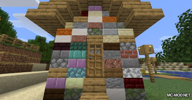 Mixed Slab mod for Minecraft (9)