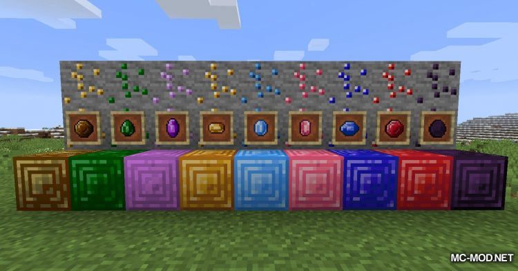 More Gems mod for Minecraft (6)