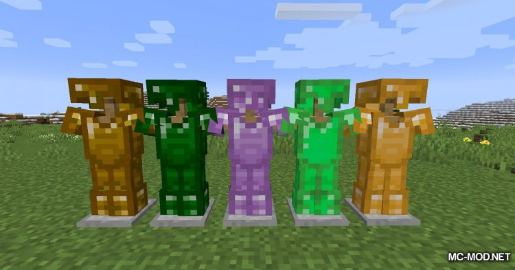 More Gems mod for Minecraft (7)