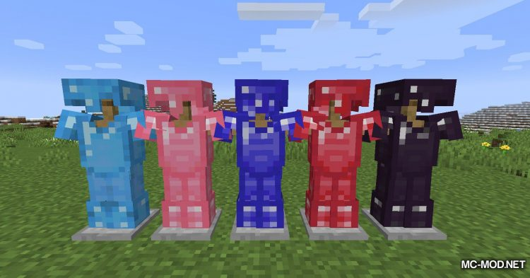 More Gems mod for Minecraft (8)