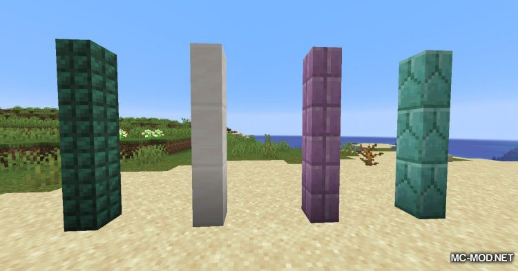 New Slabs, Stairs _ Walls mod for Minecraft (5)