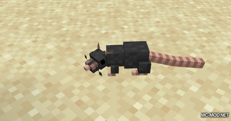 Rats mod for Minecraft (1)