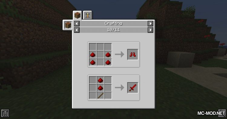 Redstone Tools mod for Minecraft (3)