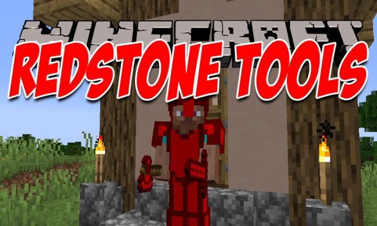 Redstone Tools mod for Minecraft logo