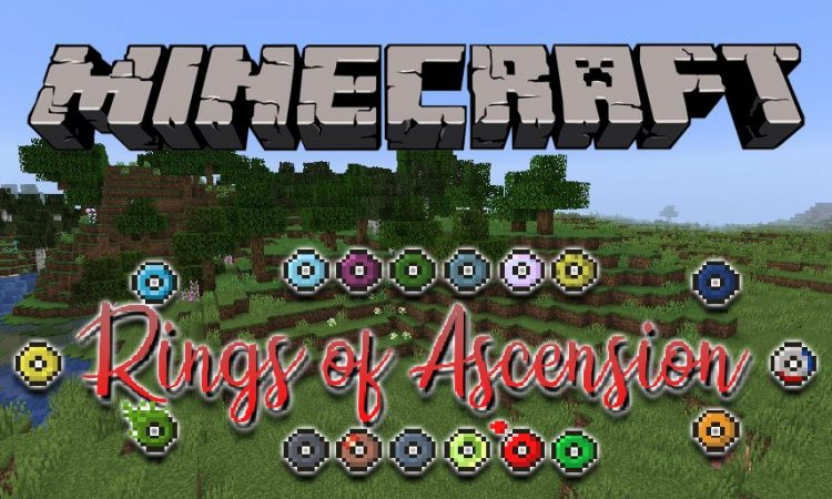 Rings Of Ascension mod for Minecraft logo