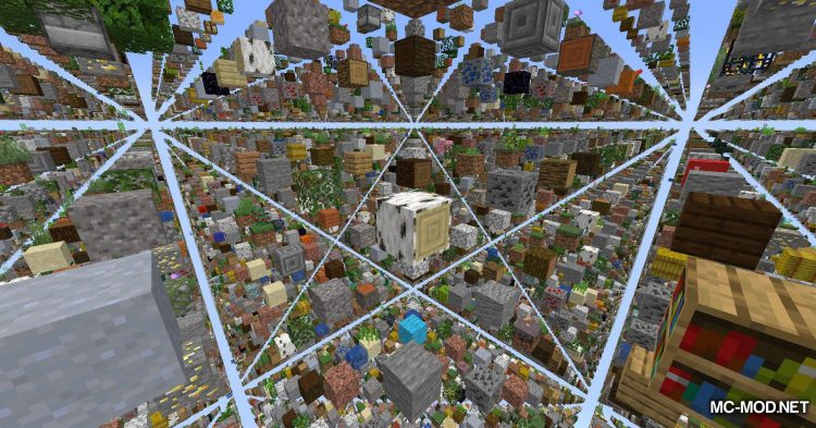 Skygrid mod for Minecraft (12)