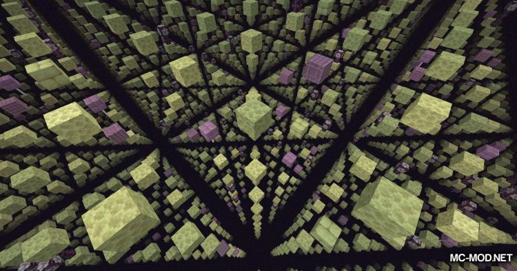 Skygrid mod for Minecraft (9)