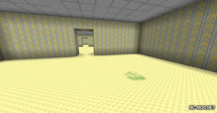 The Backrooms mod for Minecraft (11)