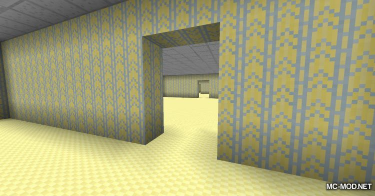 The Backrooms mod for Minecraft (7)