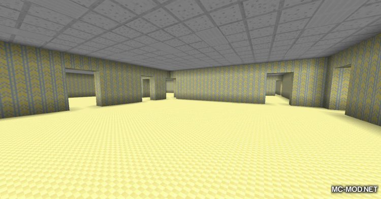 The Backrooms mod for Minecraft (8)
