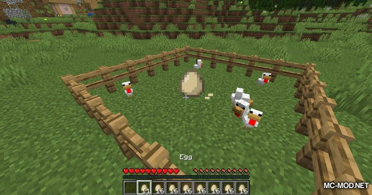 The Egg Came First mod for Minecraft (10)
