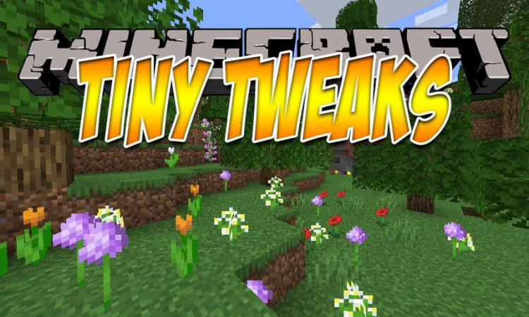 TinyTweaks mod for Minecraft logo